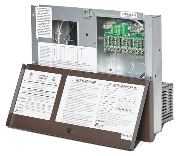 8355A Power Center (ATS301 Transfer Switch Attached)