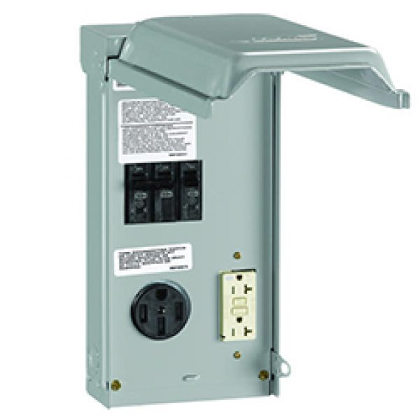 U055C010P Outdoor Power Outlet